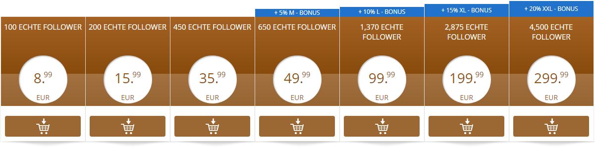 instagram deutsche Follower kaufen bild übersicht