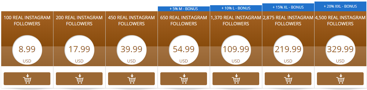 Buy Instagram Followers and Likes - Instant Delivery