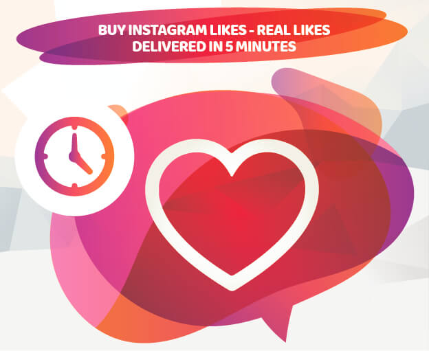 BUY INSTAGRAM LIKES - REAL LIKES - DELIVERED IN 5 MINUTES