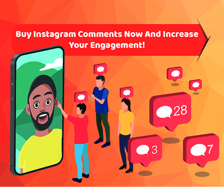 Buy Instagram Comments now and increase your Engagement