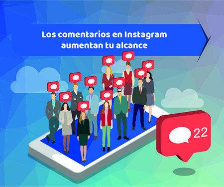 Los comentarios en Instagram aumentan tu alcance
