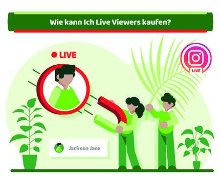 Wie kann Ich Live Viewers kaufen?