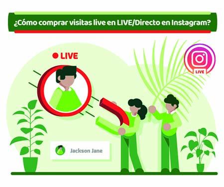 ¿Es seguro comprar visitas en LIVE/Vivo para Instagram?