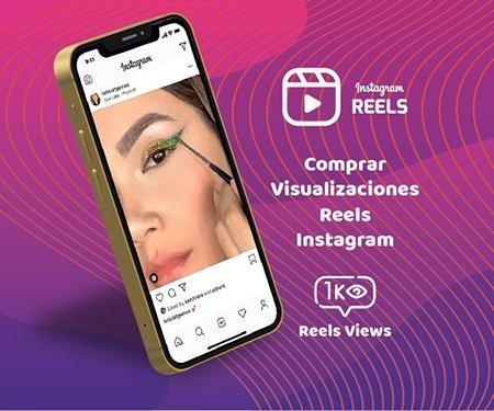 Comprar Visualizaciones Reels Instagram