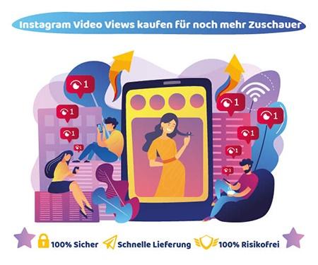 Instagram Video Views kaufen für noch mehr Zuschauer
