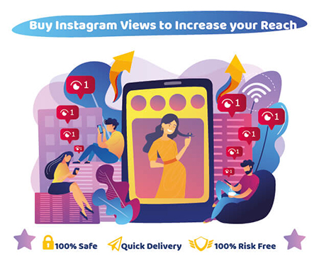 Buy Instagram Views to Increase your Reach