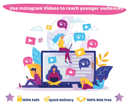Use Instagram Videos to reach younger audiences