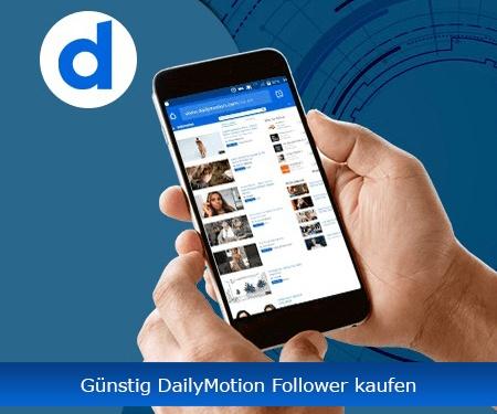 Günstig DailyMotion Follower kaufen