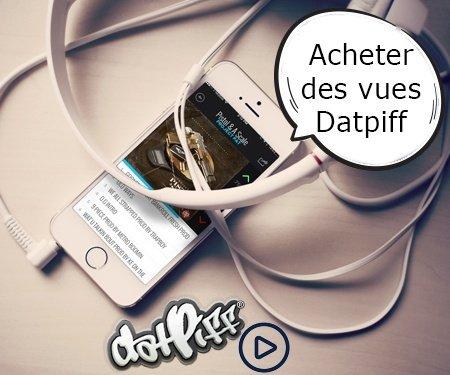 Acheter des vues Datpiff