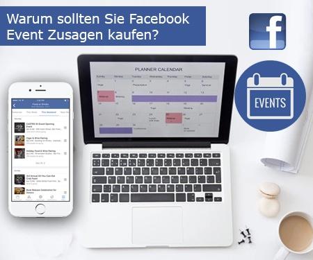 Warum sollten Sie Facebook Event Zusagen kaufen?