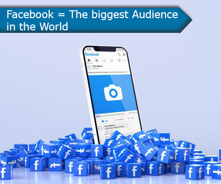 Facebook = The biggest Audience in the World