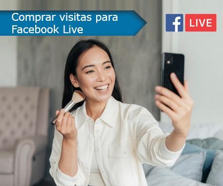 Comprar visitas para Facebook Live