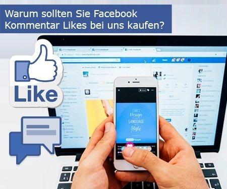 Warum sollten Sie Facebook Kommentar Likes bei uns kaufen?