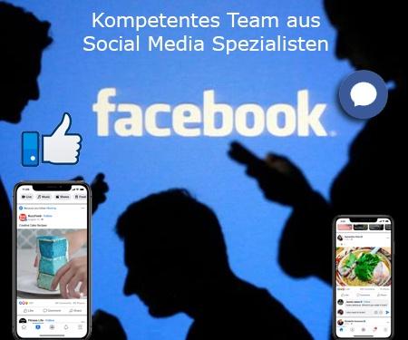 Kompetentes Team aus Social Media Spezialisten