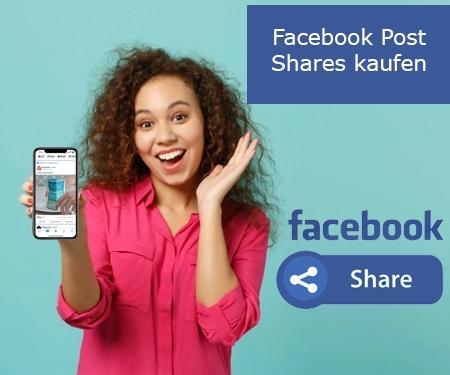 Facebook Post Shares kaufen