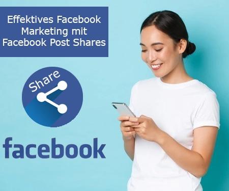 Warum sollten Sie Facebook Post Shares kaufen?