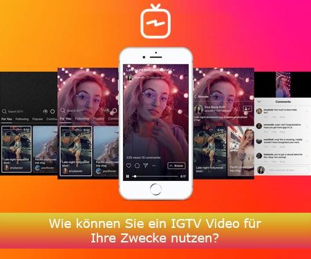 Wie werden IGTV Videos auf Instagram veröffentlicht?