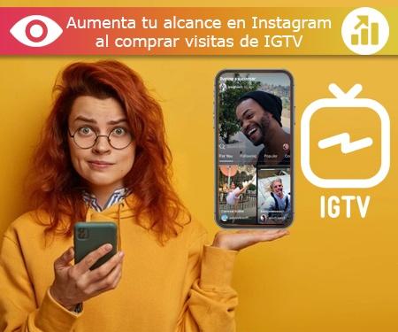 Aumenta tu alcance en Instagram al comprar visitas de IGTV
