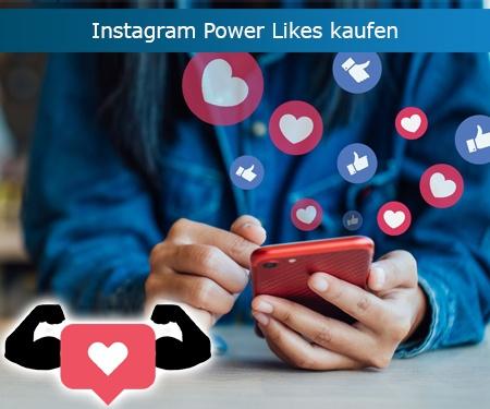 Instagram Power Likes kaufen