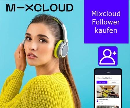 Mixcloud Follower kaufen