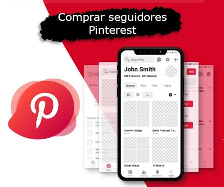 Comprar seguidores Pinterest