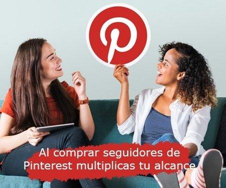 Al comprar seguidores de Pinterest multiplicas tu alcance