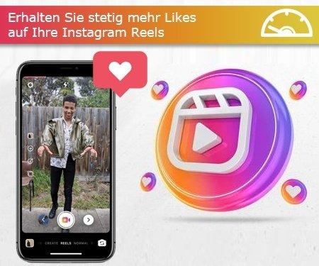 Erhalten Sie stetig mehr Likes auf Ihre Instagram Reels