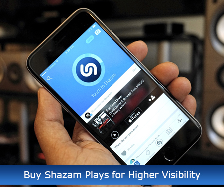Buy Shazam Plays for Higher Visibility