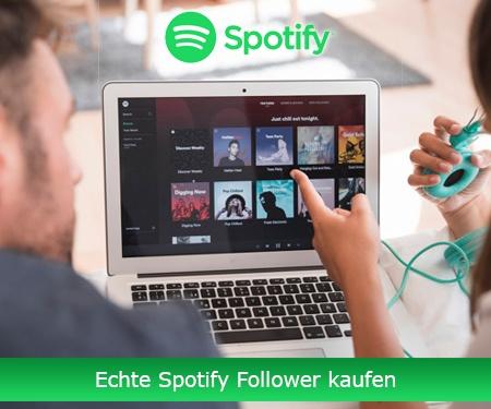 Echte Spotify Follower kaufen