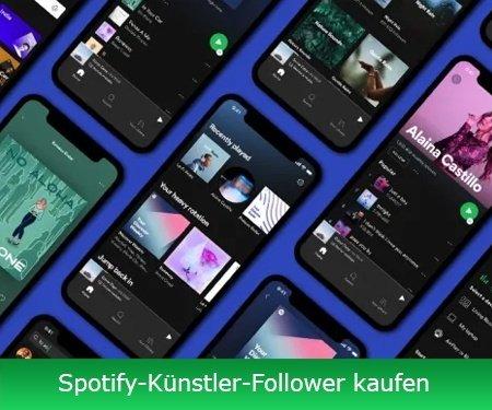 Spotify-Künstler-Follower kaufen
