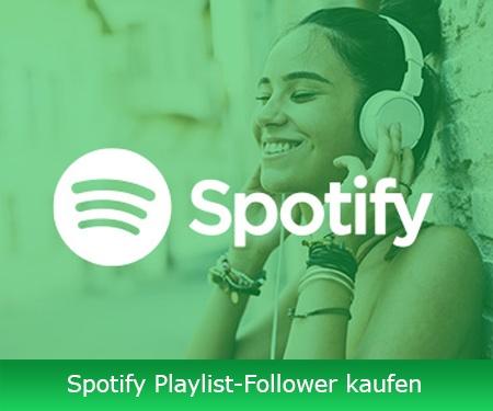Spotify Playlist-Follower kaufen