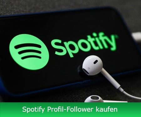Spotify Profil-Follower kaufen