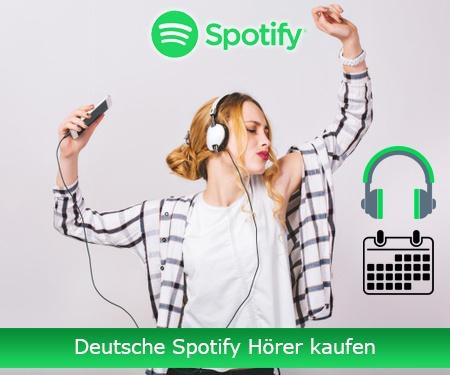 Deutsche Spotify Hörer kaufen