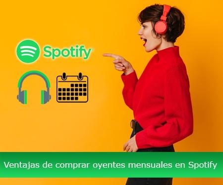 Ventajas de comprar oyentes mensuales en Spotify