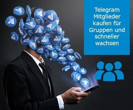 Telegram Mitglieder kaufen für Gruppen und schneller wachsen