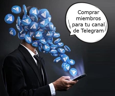 Comprar miembros para tu canal de Telegram