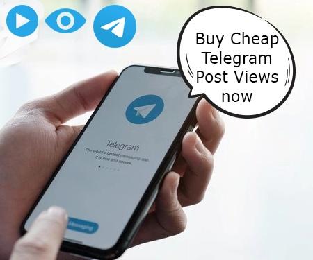 Buy Cheap Telegram Post Views now