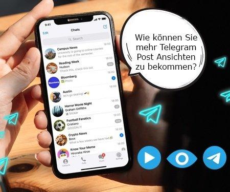 Wie funktioniert das Telegram Post Views kaufen?