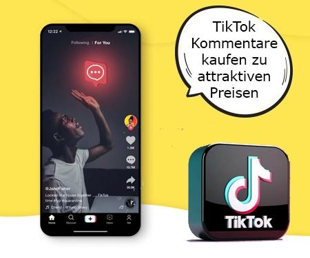 TikTok Kommentare kaufen zu attraktiven Preisen