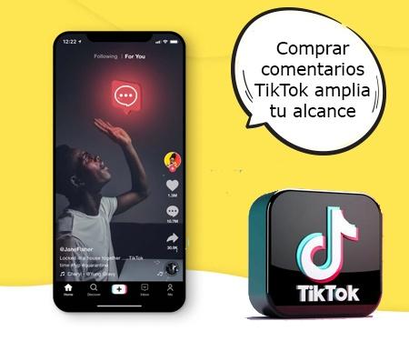 Comprar comentarios TikTok amplia tu alcance
