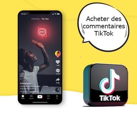 Acheter des commentaires TikTok