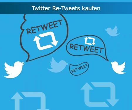 Twitter Re-Tweets kaufen