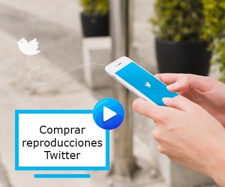 Comprar reproducciones Twitter