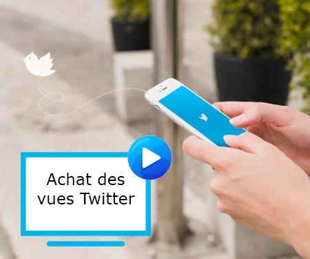Achat des vues Twitter