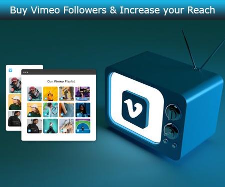Buy Vimeo Followers & Increase your Reach