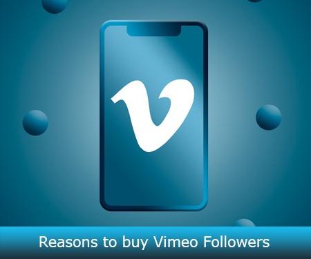 Reasons to buy Vimeo Followers