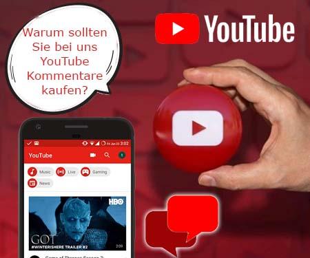 Warum sollten Sie bei uns YouTube Kommentare kaufen?