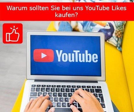 Warum sollten Sie bei uns YouTube Likes kaufen?