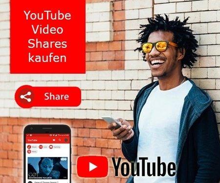 YouTube Video Shares kaufen
