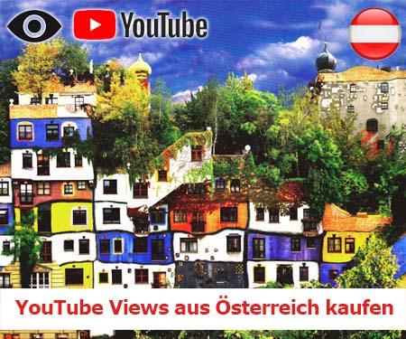 YouTube Views aus Österreich kaufen